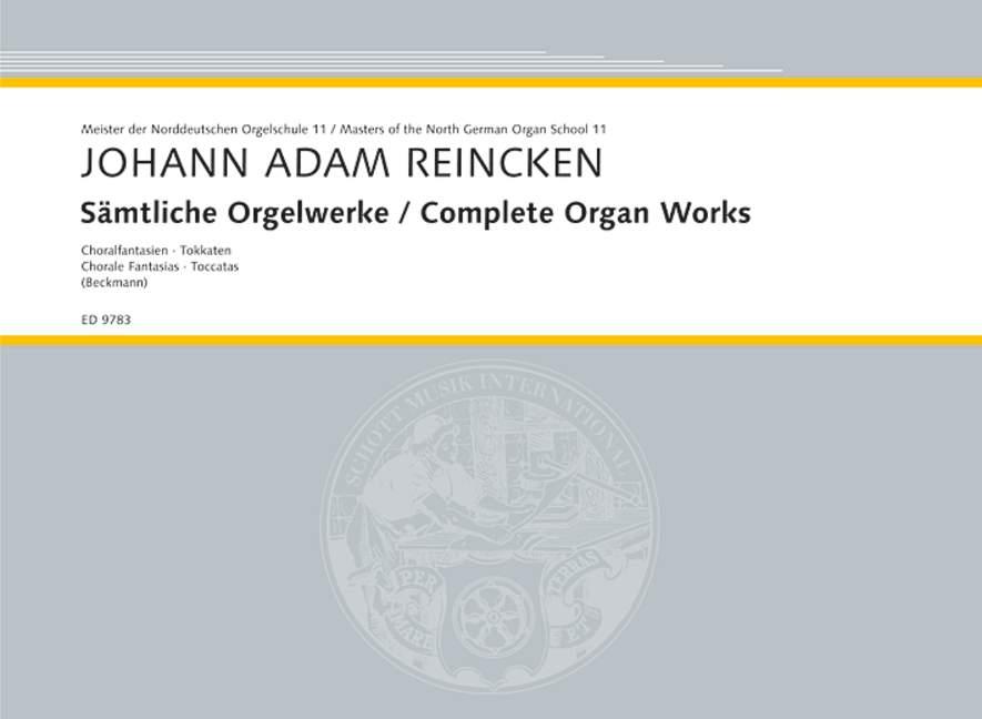Complete Organ Works 2 Coral Coral Coral Vestido - 2 Toccatas Reincken, Johann Adam o  calidad de primera clase